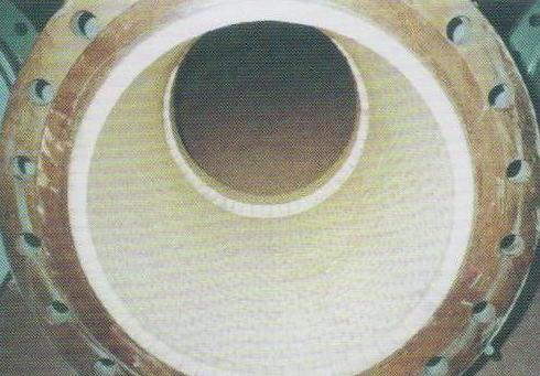 耐磨陶瓷贴片管道